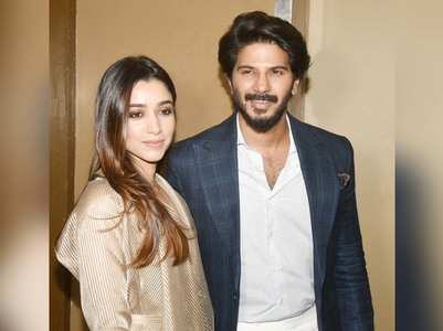 Dulquer & his wife Amal Sufiya get snapped