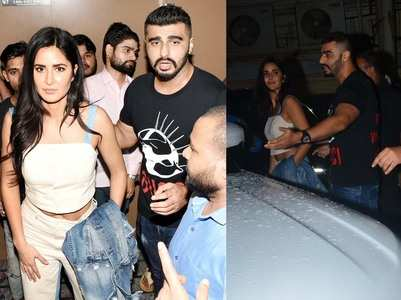 Arjun plays the protective friend to Katrina