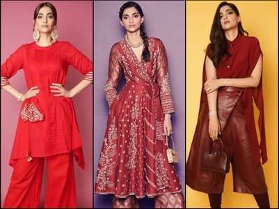 Sonam Kapoor's 'The Zoya Factor' style file