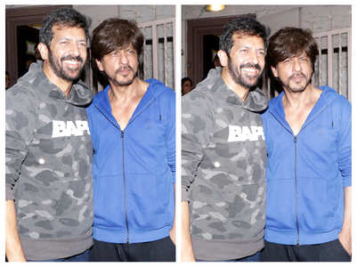 Photos: SRK gets snapped with Kabir Khan