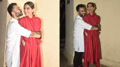 Anand Ahuja showers love on wife Sonam Kapoor at 'The Zoya Factor' screening