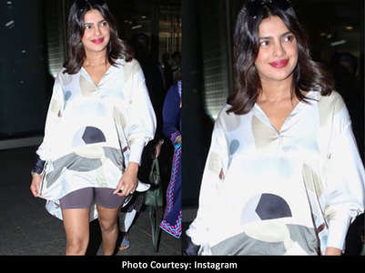 Priyanka trolled for wearing cycling shorts