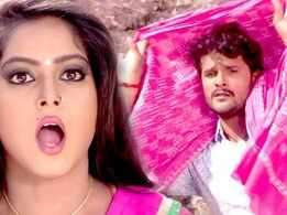 Watch: Khesari Lal Yadav and Anjana Singh's Bhojpuri song 'Desi Ladki Chahi' from 'Haseena Maan Jayegi'