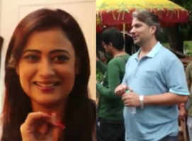 Shweta Tiwari's promo shoot with Varun Badola