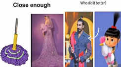 Deepika Padukone goes Ranveer Singh's way, shares hilarious memes on their latest look