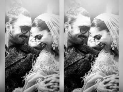 Ranveer shares a sweet picture with Deepika!