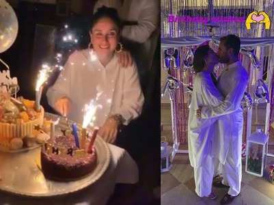 Pics: Kareena rings in her 39th bday with Saif
