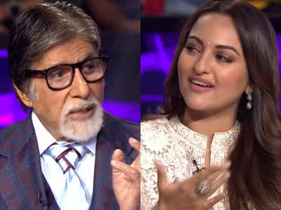 KBC11: Big B makes fun of Sonakshi Sinha's GK
