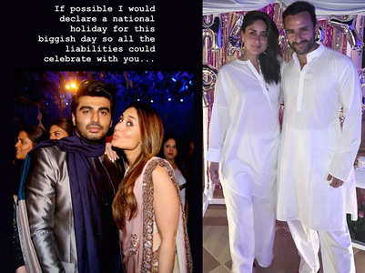 Arjun wishes Kareena with a witty post