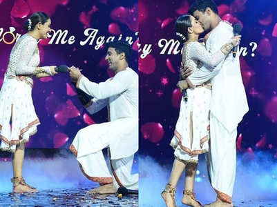 Nach: Anita and Rohit get married again