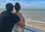 Kunal Kemmu and Inaaya strike an adorable pose in the balcony