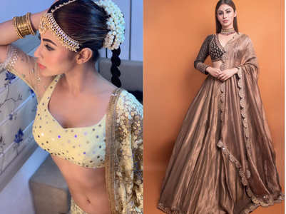 Mouni Roy's wardrobe is wedding ready