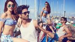 Jacqueline Fernandez flaunts her abs in her latest picture with Sushant Singh Rajput