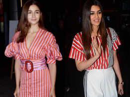From Alia Bhatt to Kriti Sanon: Bollywood hotties rock stripes