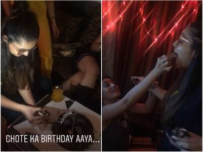 Ishqbaaz girls celebrate Mansi's birthday