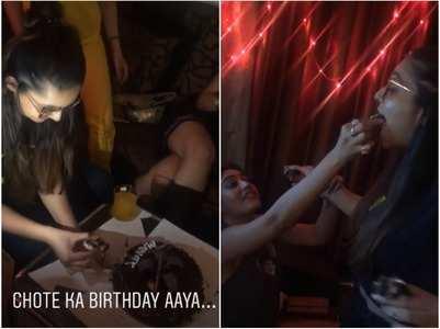 Ishqbaaz girls celebrate Mansi's birthday