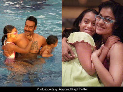 Happy Daughters' Day: Ajay, Kajol wish Nysa