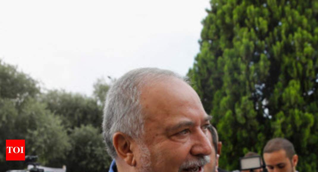 Israel's Lieberman says not backing Netanyahu or Gantz for PM 1