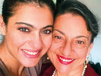 Kajol's sweet B'day wish for supermom Tanuja