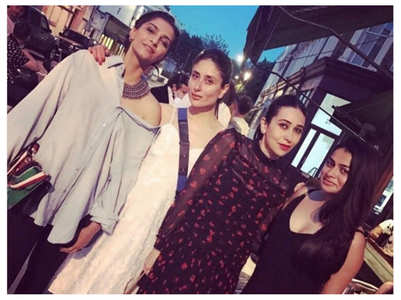 Kareena chills with sis Karisma in this pics