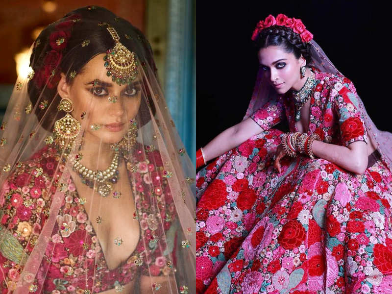 Brides All Over The World Love This Sabyasachi Lehenga Worn By Deepika Padukone Times Of India