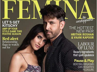 Hrithik-Vaani sizzle on Femina's latest cover