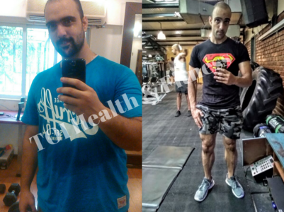 Know the diet this guy followed to lose 50 kilos!