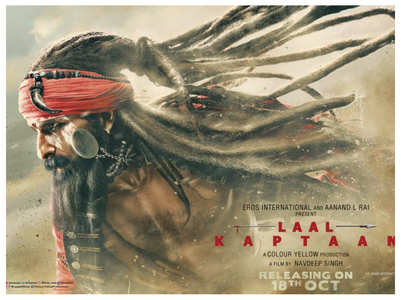Watch: Saif impresses in 'Laal Kaptaan' trailer