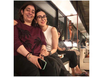 Karisma is elated to reunite with her cousin