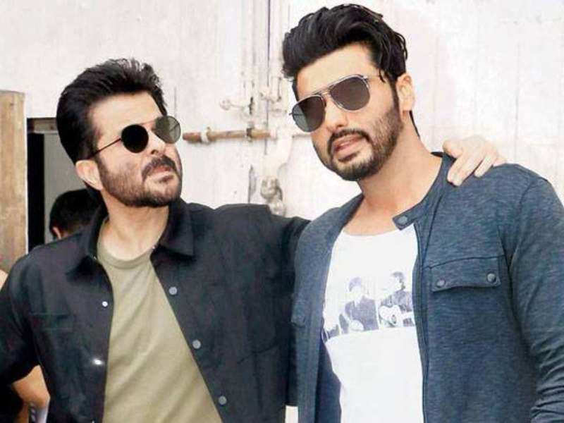 Anil Kapoor Thanks Arjun Kapoor For His Cheesy Pyaar Beshumaar Hindi Movie News Times Of India