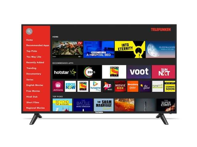 Telefunken launches 4K Ultra HD smart LED TVs in India, price starts Rs 26,999
