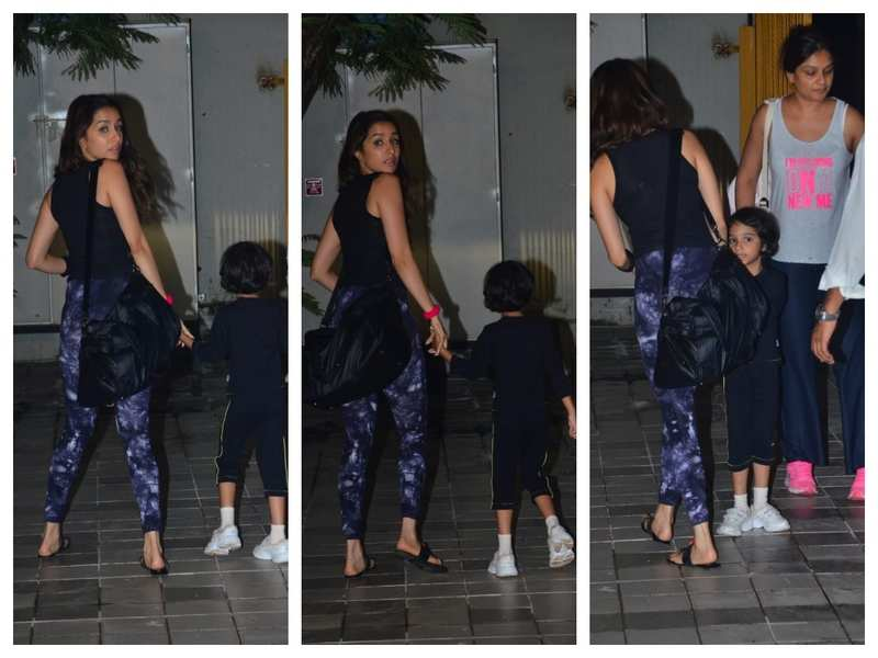 Photos: Shraddha Kapoor snapped in the city with aunt Tejaswini Kolhapure and her daughter