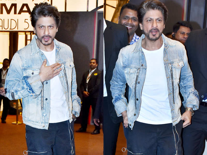 Shah Rukh Khan just wore the costliest denim jacket ever!