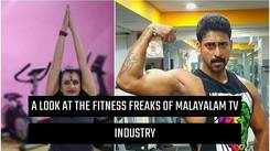 A look at the fitness freaks of Malayalam TV industry