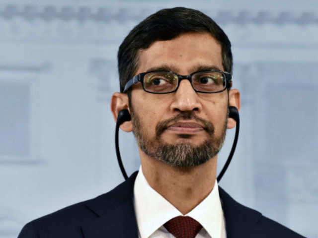 Google chief executive Sundar Pichai (File photo)