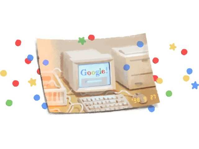 Google celebrates its 21st birthday with a special Doodle