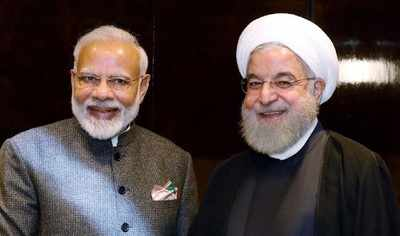Image result for PM Modi reaffirms India's support to diplomacy, dialogue for maintaining peace in Persian Gulf
