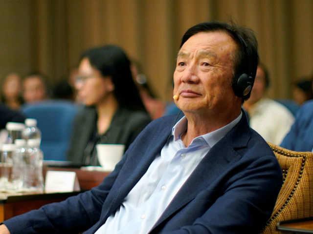 Huawei Technologies' chief executive officer Ren Zhengfei (File photo)