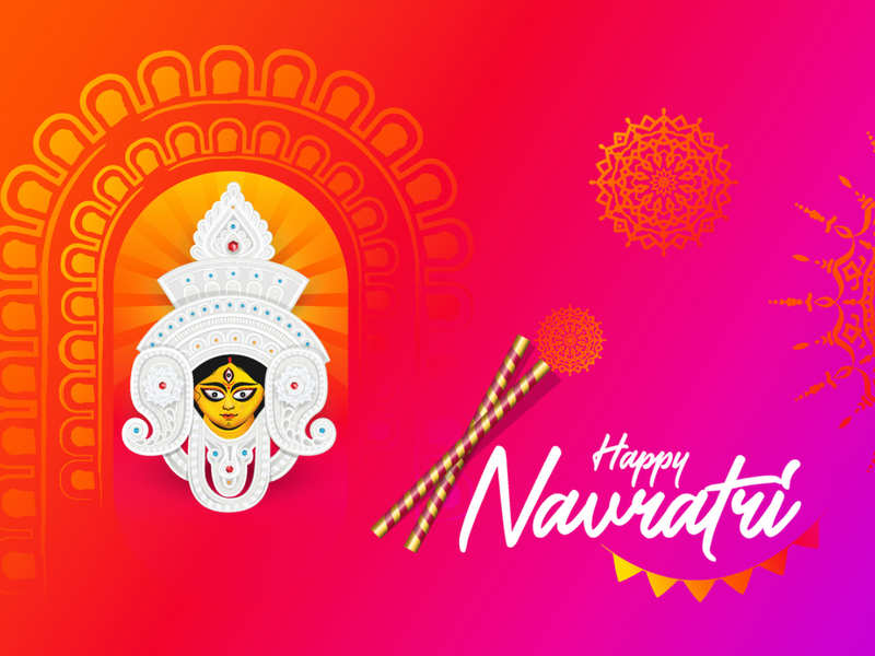 The Best Happy Navratri 2020 Gif Download Wallpapers