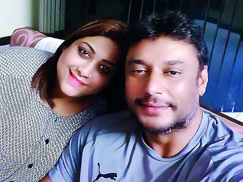 When Rakshitha And Darshan Met After A Decade Kannada Movie News Times Of India