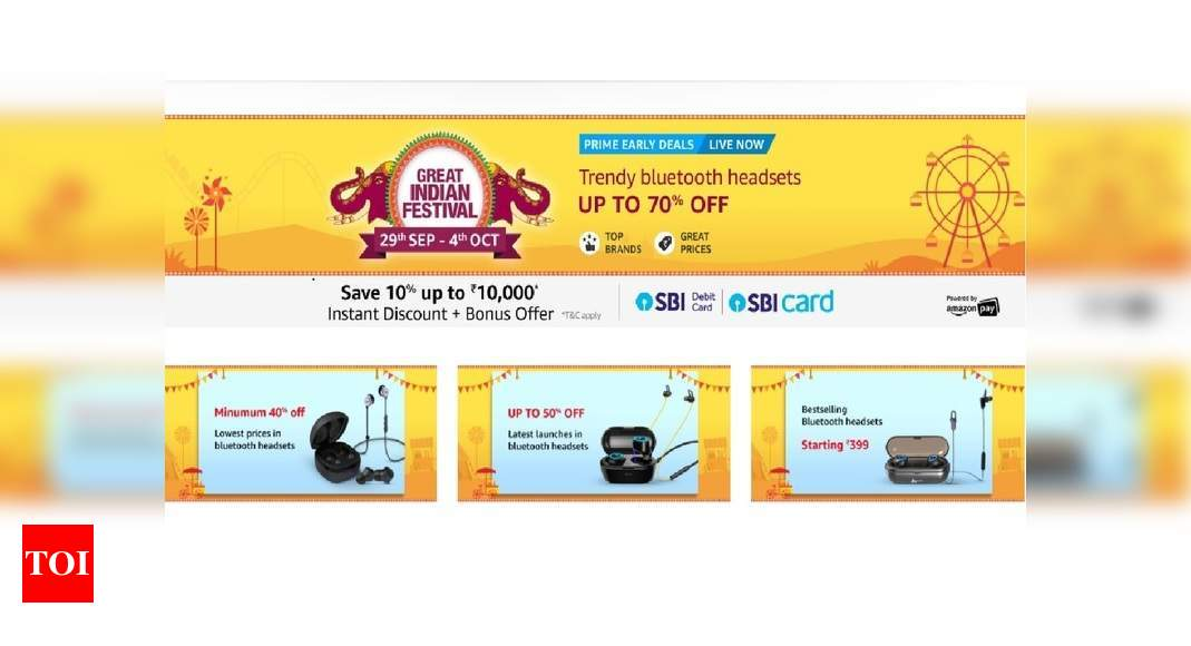 Amazon Sale Up To 70 Off On Jabra Boat Jbl And Other Bluetooth Headphones Most Searched Products Times Of India
