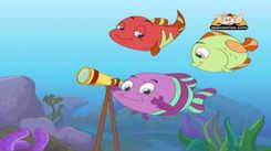 Kids Stories | Nursery Rhymes & Baby Songs - 'A Tale of Three Fish | Panchatantra Tales' - Kids Nursery Story In Gujarati