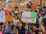 Bhumi Pednekar participates in global climate strike