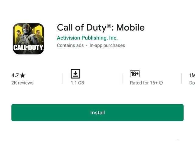 Call of Duty Mobile now available to download on iOS and Android smartphones