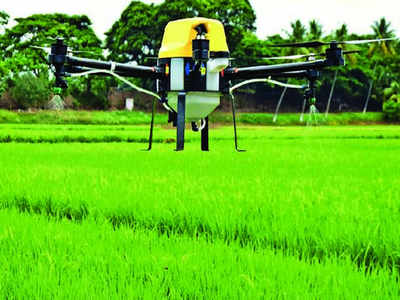 Image result for drone tamilnadu agriculture university indiatimes