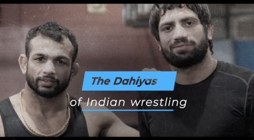 Meet Amit and Ravi - The Dahiyas of Indian wrestling