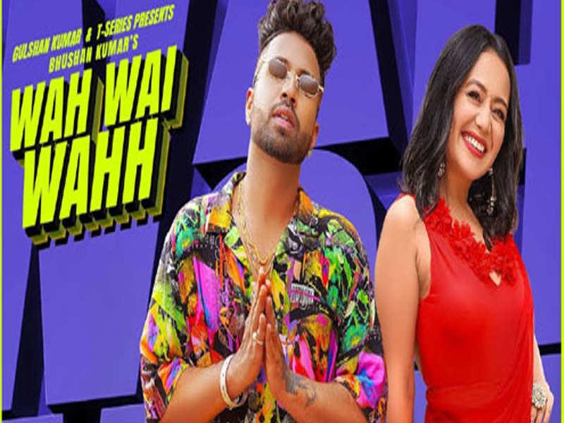 Neha Kakkar And Sukhe Muzical Doctorz S Wah Wai Wahh Will Get You Grooving Instantly Punjabi Movie News Times Of India
