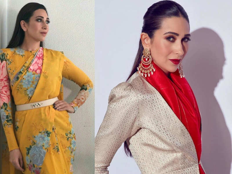 This is the new smart way to wear a sari