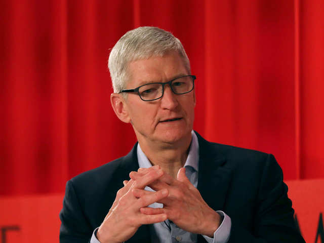 Apple CEO Tim Cook has a message for students