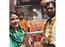 Seema Singh turns spiritual as she visits a temple with husband Saurav Kumar